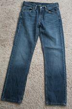    Mens Jeans size 30 x 32 Levis Strauss 514 straight fit denim blue male