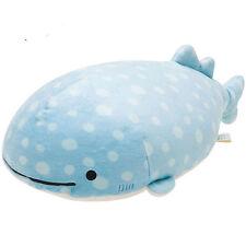 "17"" Big San-x Whale Shark Plush Doll Jinbei-San Plush Toy Super Pillow gift New"