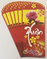 6pcs-set Red Envelopes, Bao Lì Xì - Xuân - Chúc Mừng Năm Mới