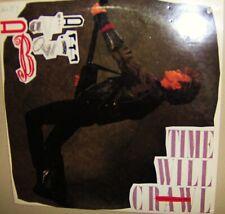 David Bowie 12 Inch Vinyl Record 2 Cuts Time Will Crawl & Girls 1987 Emi Records