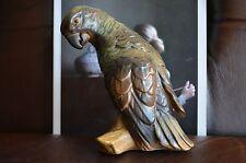 Bing & Grondahl B&G 2019 Parrot Stoneware Bird Figurine Royal Copenhagen Denmark