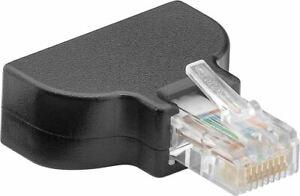 RJ45 Crimp Stecker Schraubversion RJ 45 LAN Netzwerk Verlegekabel starre Litze