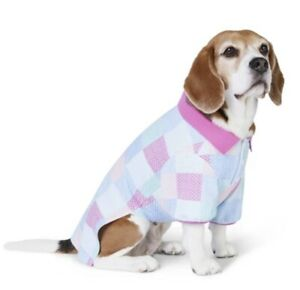 Vineyard Vines Target Medium Pet Dog Shirt Polo Colorful Patchwork NWT