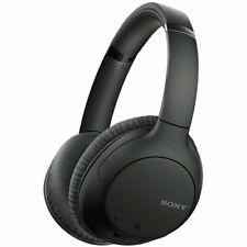 Sony WHCH710N Wireless Noise-Canceling Over The Ear Headphones - Black