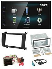 Kenwood AUX Bluetooth USB MP3 2DIN Autoradio für Mercedes SLK R171 2004-2011