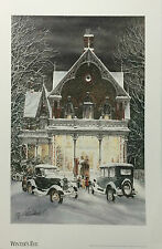 Winter Eve by Walter Campbell open edition only one available Xmas Gift ide