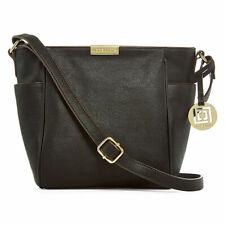 Bnew  Liz Claiborne Lola Crossbody Bag, Black