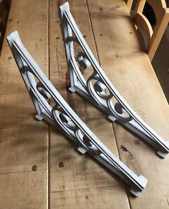 2 Large Aluminium cast shelf brackets/gallows bracket for Veranda-Conservatory