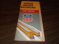 OCTOBER 1955 UNION PACIFIC SYSTEM PUBLIC TIMETABLES