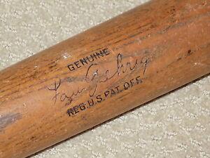 Lou Gehrig H&B Vintage Baseball Bat New York Yankees HOF