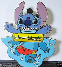 Disney Auctions Stitch Sports Swimming LE 100 Pin