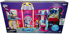 My Little Pony Canterlot High Playset MIB Equestria Girls Toy W/ DJ PON-3 Doll!