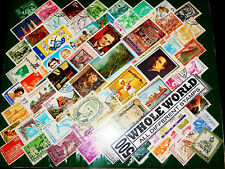 500 Different CTO/MNH/Commemorative World Wide Stamps Great Old Vintage Rare Lot
