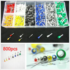 Car 800pcs Tube Insulated Terminal Electrical Wire Connector Terminal Crimp AWG
