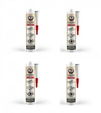 350° Rot 21g Abdichten 4x K2 Silikon Silikon Hochtemperatur Dichtmasse Baustoffe & Holz