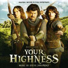 Your Highness - Steve Jablonsky (2011, CD NIEUW) Music BY Steve Jablonsky