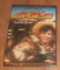 NEW~2004 RETURN OF RIN TIN TIN DVD~W/RIN TIN TIN III 3 & ROBERT BLAKE~SEALED~NIP