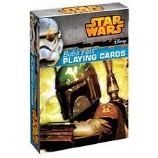 Star Wars Rebels Bobba Fett Playing Cards Disney Deck of Cards NEW Sealed