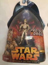 Star Wars C-3PO Revenge of the Sith action figure #18 ROTS Protocol droid NIP