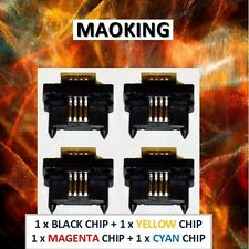 4 Reset Chips for Xerox Imaging Unit 108R00581 Phaser 7750 7750B 7750DN 7750GX