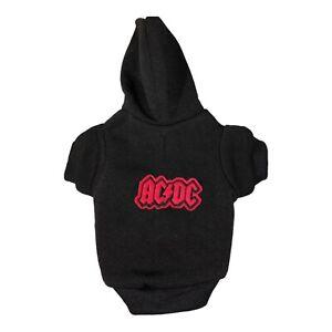 Sweatshirt with rocker AC/DC patch size XS