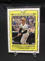 2021 Topps Heritage Roberto Clemente The Great One #GO-17 Pittsburgh Pirates HOF