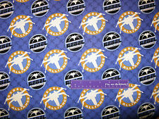 STAR WARS Rebel Alliance GID Glow In The Dark Cotton Fabric BY THE HALF YARD