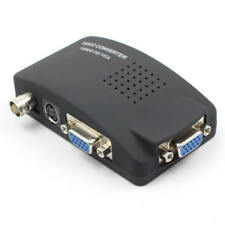 CCTV DVD DVR Camera TV BNC Video VGA Input to VGA Output PC Converter Adapter U