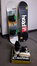 KIDS SNOWBOARD PACKAGE, Head Flocka , 110 CM, BURTON BINDINGS, Jr PACKAGE,FITTIN