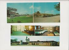 Postcards - Lot of Five Oversized Cards