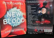 Peter Gabriel: New Blood - Live in London Blu-ray Disc, NEW! Concert ,2011
