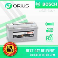 Bosch S5 Car Battery 12V 100Ah 830CCA S5013 Type 019