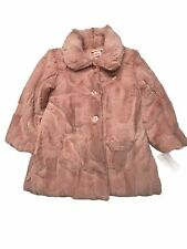 Juicy Couture Baby/Toddler Girl's Faux Fur Jacket Pink Size 4T New With Tags