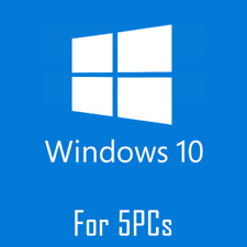 Windows 10 Pro 32/64 Key ESD 5 Pcs REINSTALABLE Multilang  Key GARANTIA