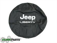 2002-2007 Jeep Liberty Tire Cover Bright Silver w/Logo MOPAR GENUINE OEM