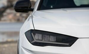 Lamborghini URUS Smoked TINT Headlight Blackout Lens Pre Cut Decal Overlay