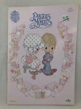 Precious Moments cross stitch pattern book PMR2 SEW IN LOVE REVISED