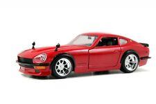 JADA 1:24 DISPLAY BIG TIME KUSTOMS 1972 NISSAN DATSUN 240Z Diecast Car Red