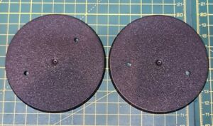 WH40K/AOS 90mm Round Base x2