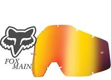 FOX MAIN inferno MIRROR Replacement Goggle LENS MOTOCROSS  tear off bmx mtb MX