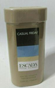 Escada Casual Friday Eau de Toilette 75ml / 2.5oz spray new sealed Free Shipping