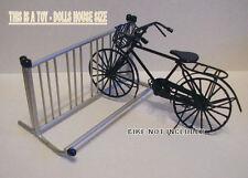 DOLLSHOUSE MINIATURE - MODERN BICYCLE RACK - TOY