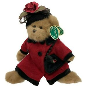 THE BEARINGTON COLLECTION LIZ BEAR RED STYLE 1441