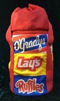 VINTAGE 1985 O'Gradys, Lays, Ruffles Cooler Bag Backpack Beach Picnic Frito-Lay