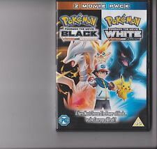 POKEMON THE MOVIE - BLACK VICTINI / RESHIRAM - WHITE VICTINI / ZEKROM DVD 2 FILM
