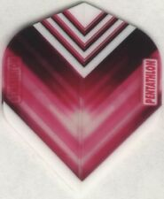 "Pink ""Vizion V"" PENTATHLON Dart Flights: 3 per set"