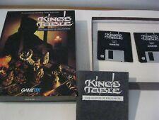 "King's Table PC game 3.5"" disks complete Gametek 1993"