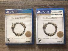 Elder Scrolls Online: Tamriel Unlimited (Sony PlayStation 4, 2015) 2 Copies