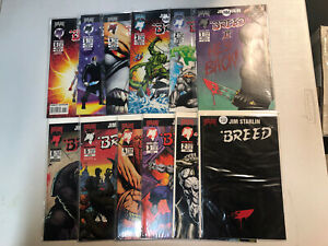 Breed + 2nd series (1994) #1 2 3 4 1-4 (VF/NM) 2 Complete Sets Jim Starlin art