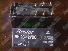 5PCS USED BESTAR Relay BH-2C-12VDC